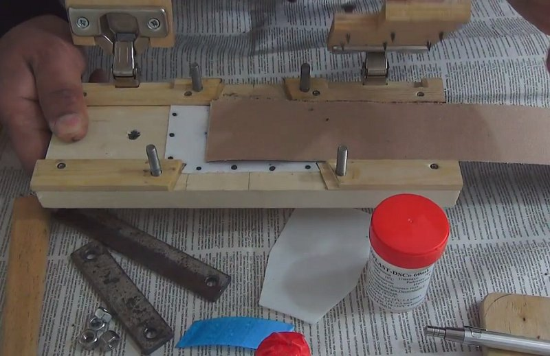 Как и чем склеить шлифовальную ленту для гриндера