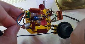 Регенеративный радиоприёмник из хлама