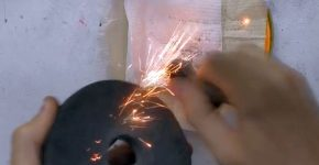 Огниво (кресало) из неодимового магнита