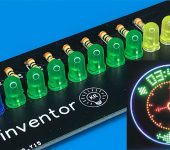Светодиодные часы-пропеллер на Arduino (улучшенные)