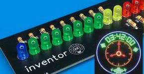 Светодиодные часы-пропеллер на Arduino NANO